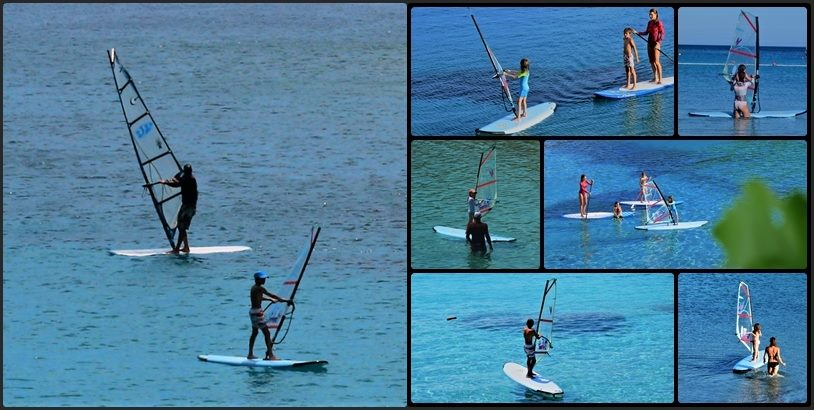 Windsurf School - Beginners Level in Milna Bay on Island of