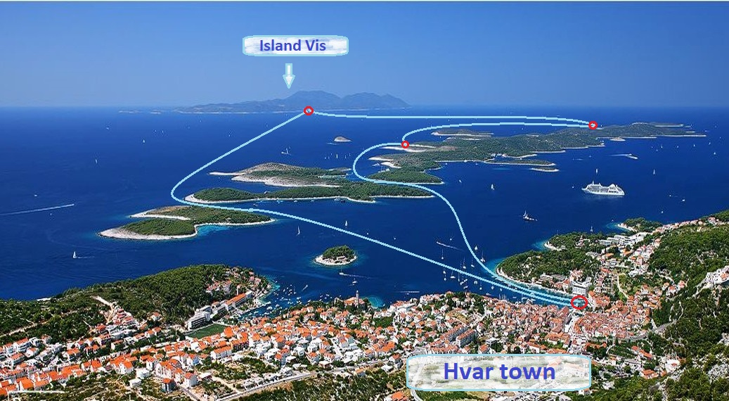 Pakleni islands & Hvar
